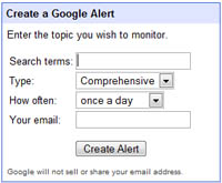 Setting up Alerts is Easy